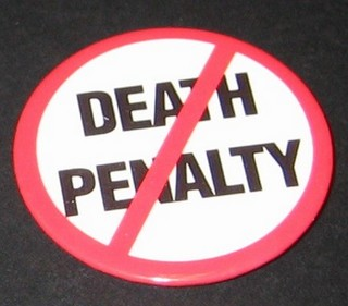 No Death Penalty Button