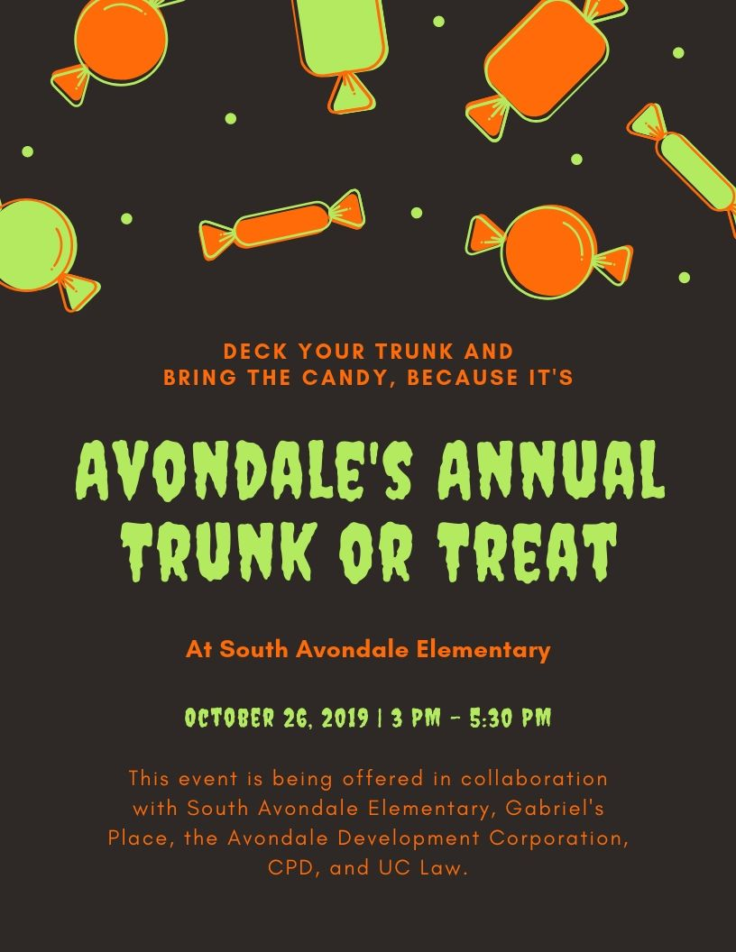 Avondales Annual Trunk or Treat
