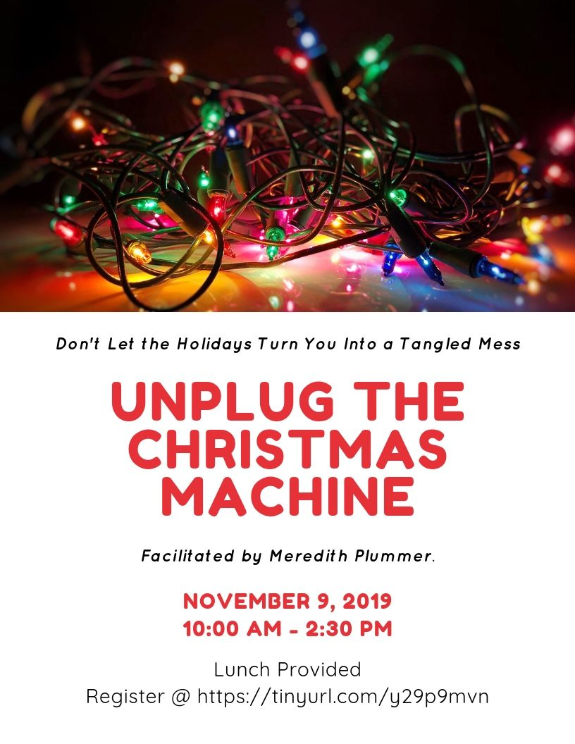 Unplug the Christmas Machine V3